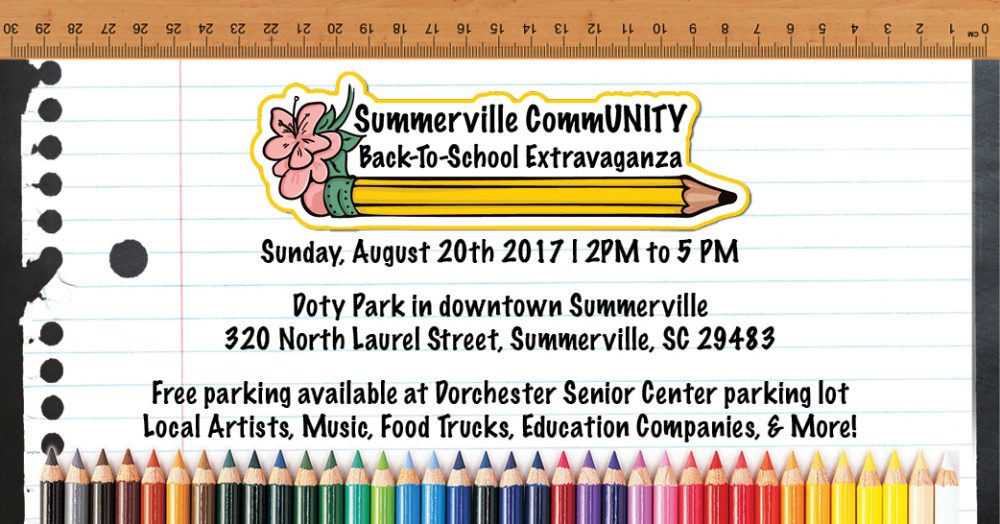 Summerville CommUNITY Back-To-School Extravaganza @ Doty Park | Summerville | South Carolina | United States