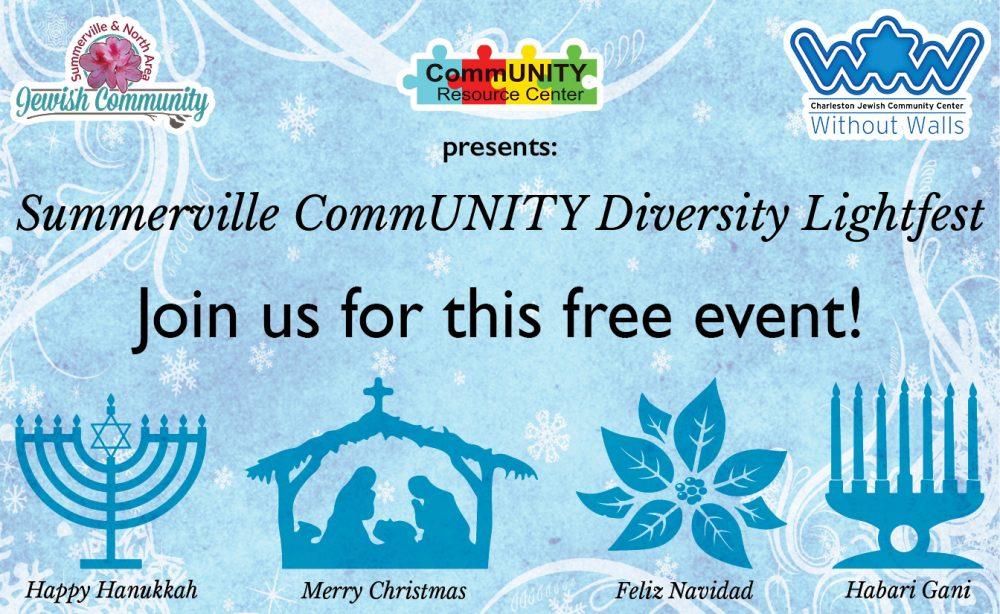 Summerville CommUNITY Diversity Lightfest @ Azalea Park/Cuthbert Center | Summerville | South Carolina | United States
