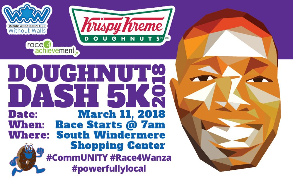 Doughnut Dash 5k 2018 #Race4Wanza @ South Windermere Shopping Center | Charleston | South Carolina | United States