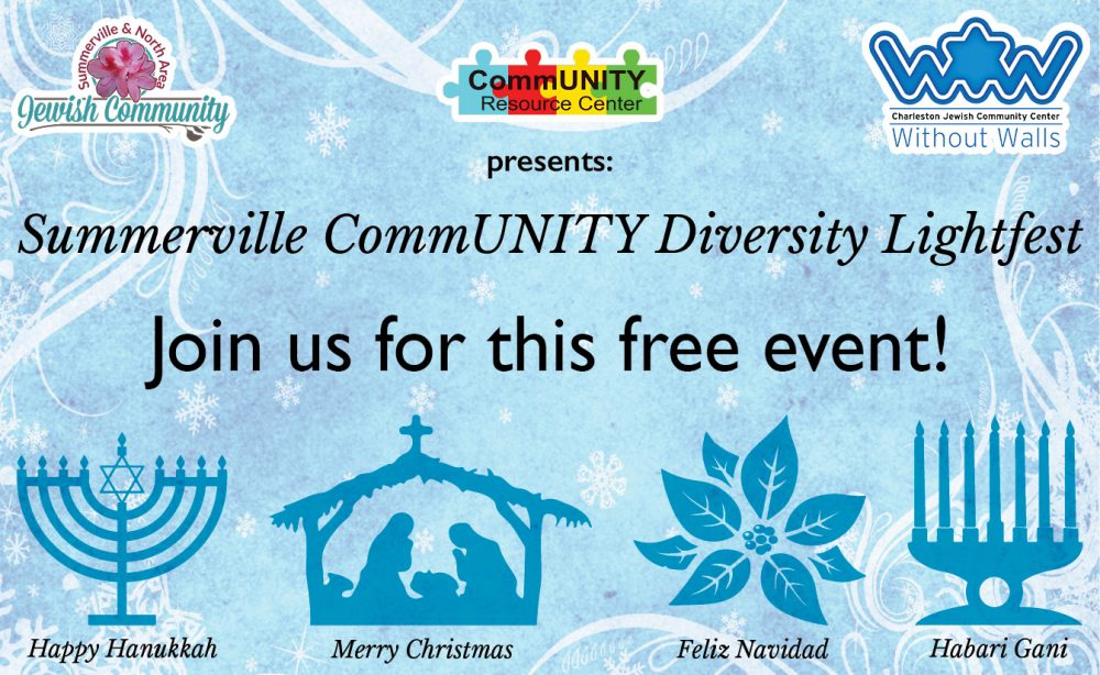 Summerville CommUNITY Diversity Lightfest @ Azalea Park/Cuthbert Center | Summerville | South Carolina | United States